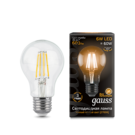 Лампа Gauss LED Filament A60